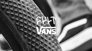 cubierta cult x vans 20x2 35 negra neumático para Bicicleta BMX